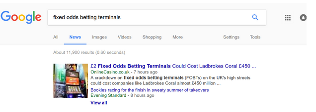 google search fobt